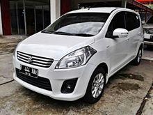 Suzuki Ertiga 1.4 GL 2013 AT white , AC double blower , excellent condition , TDP 20 jtan saja bawa pulang mobil