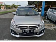 Suzuki Ertiga 1.4 GL 2015 MT silver , LIKE NEW , Top condition , servis record resmi suzuki