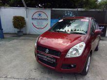 Suzuki Splash 1.2 GL Merah Mutiara MT Tahun 2012 KInclong
