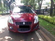Jual Cepat Suzuki Splash AT 2013 Merah,DP Ringan Siap Pakai
