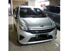 2015 Toyota Agya tdp15 manual KM 5000 asli