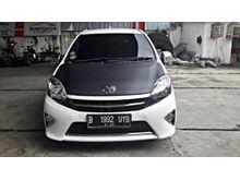 Toyota Agya 1.0 G 2014 manual putih km rendah , service record , dp 10 jtan