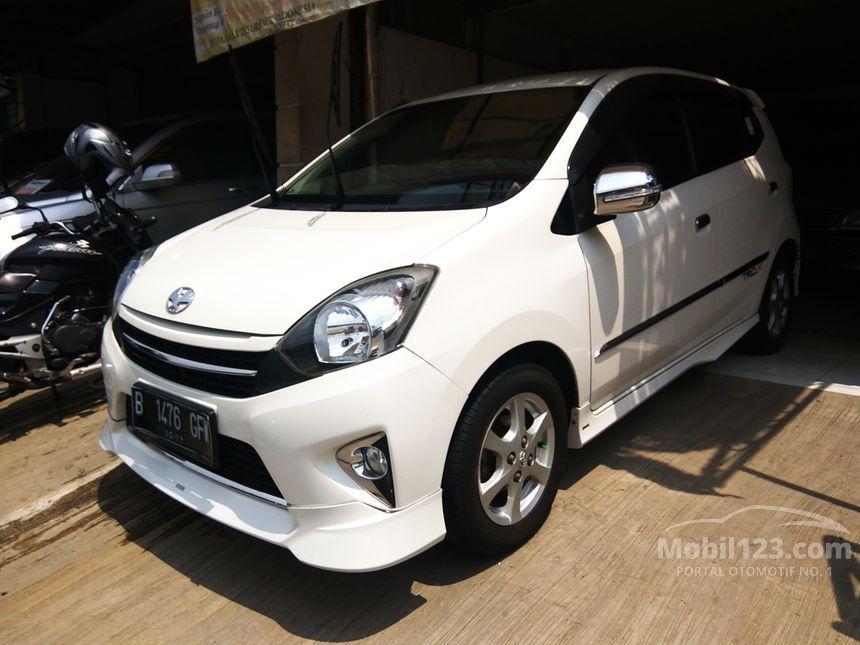 Jual Mobil Toyota Agya 2014 TRD Sportivo 1.0 di Banten ...