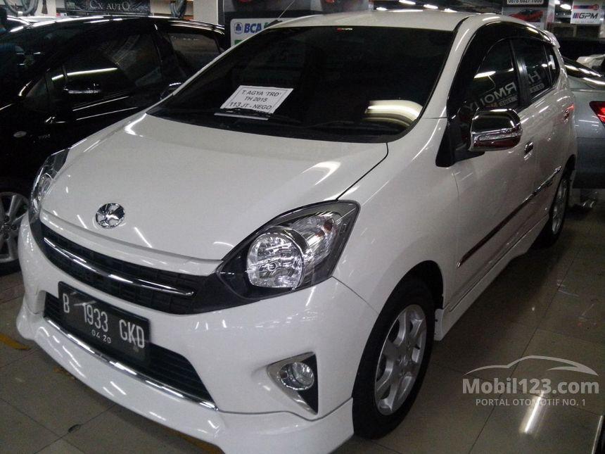Jual Mobil Toyota Agya 2013 TRD Sportivo 1.0 di DKI ...