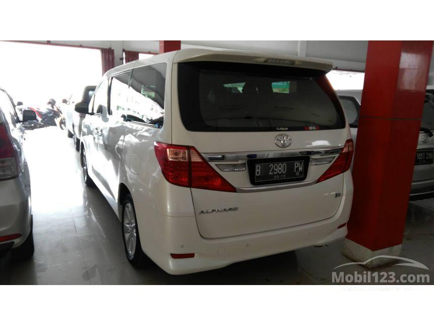2014 Toyota Alphard G G MPV