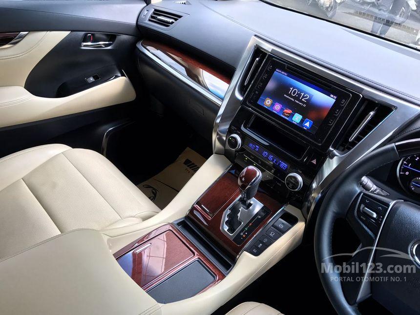 2016 Toyota Alphard G Van Wagon