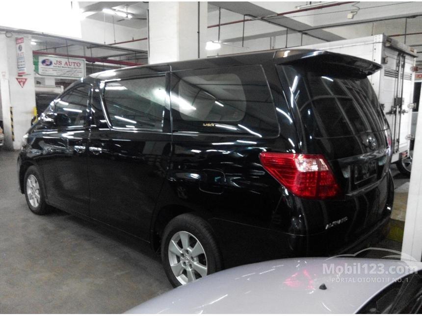 Toyota Alphard 2009 X 2.4 di DKI Jakarta Automatic MPV ...