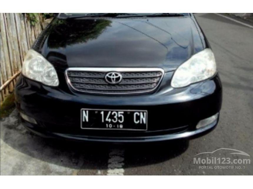 Toyota Altis 2005 1.8 di Jawa Timur Manual Sedan Hitam Rp ...