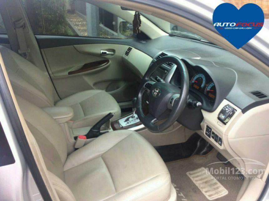 2012 Toyota Altis Sedan
