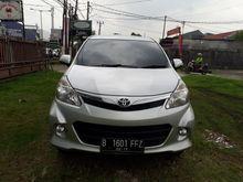 2012 Toyota Avanza 1.5  Compact Car City Car2012 Toyota Avanza veloz 1.5  Mt Silver  Istimewa