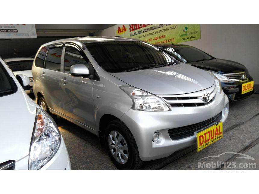 Jual Mobil Toyota Avanza 2012 E 13 Di DKI Jakarta Manual