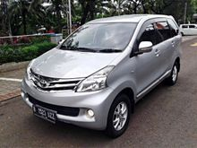 Toyota ALL NEW Avanza 1.3 G 2013 MT Silver , Service record resmi toyota , Good condition , full orisinil