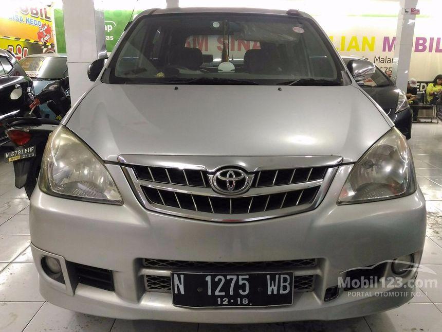Toyota Avanza 2008 G 1.3 di Jawa Timur Manual MPV Silver ...