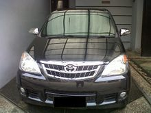Toyota Avanza 1,3 Type G Manual 2009 warna Hitam Metalik Mulus
