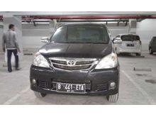 Toyota avanza g at 2011 hitam mulus