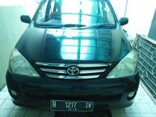 2004 Toyota Avanza 1.3 G MPV HITAM SIAP PAKAI