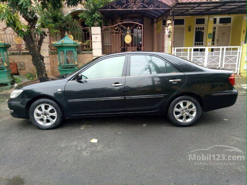 toyota camry 2005 g 2 4 di banten automatic sedan hitam rp 3645903. Black Bedroom Furniture Sets. Home Design Ideas