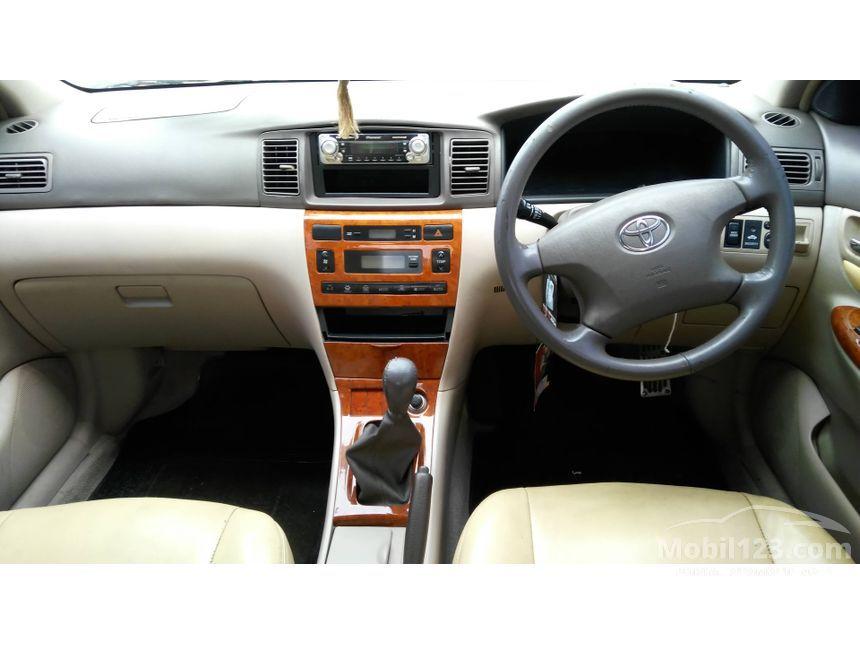 2003 Toyota Corolla Altis G Sedan