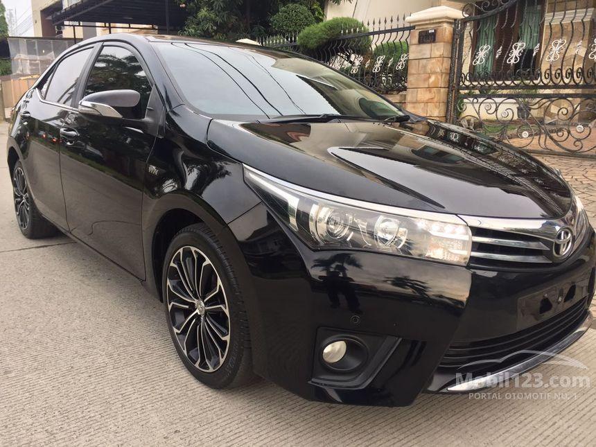 Jual Mobil Toyota Corolla Altis 2015 V 1 8 Di Dki Jakarta Automatic Sedan Hitam Rp 269 000 000 3841982 Mobil123 Com