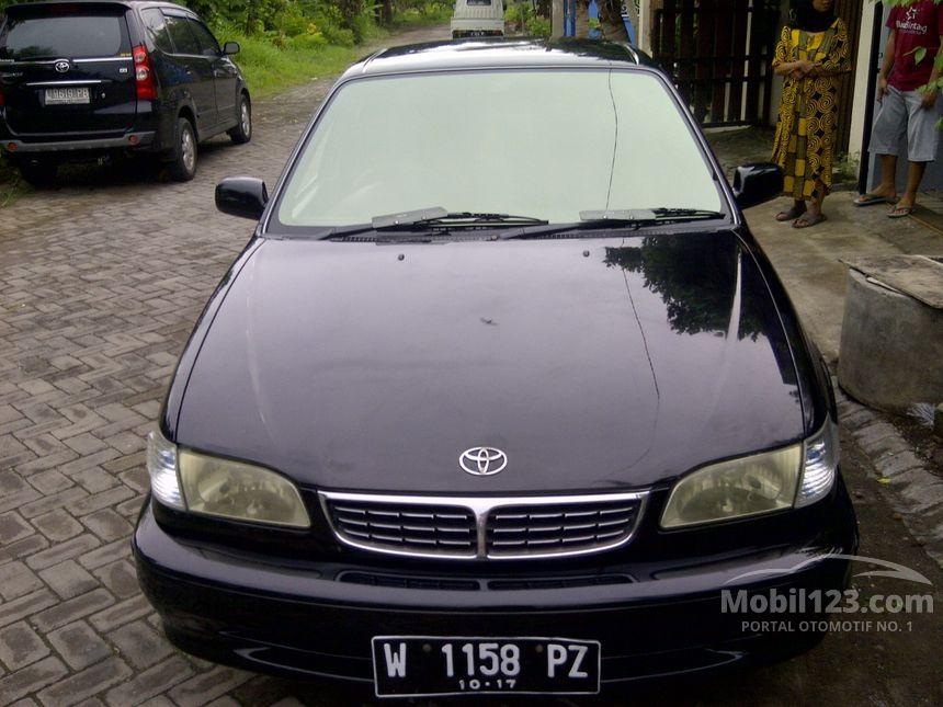Toyota Corolla 2001 1.8 di Jawa Timur Manual Minibus Hitam ...