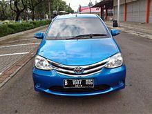 Toyota Etios Valco 1.2 E 2014 MT biru metalik , Good condition , Full orisinil , langsung cek aja gan