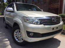 2012 Toyota Fortuner 2.5 Turbo Diesel AT