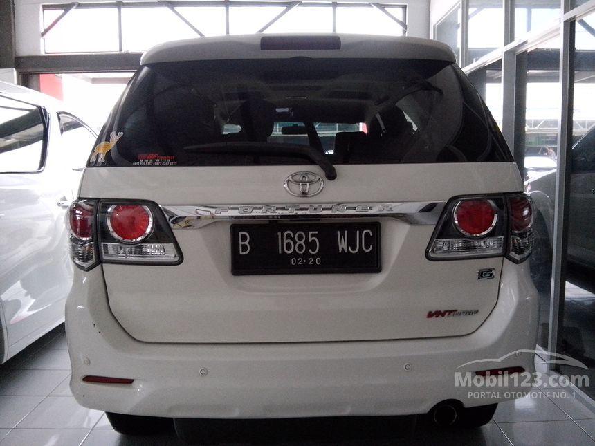 2015 Toyota Fortuner G SUV