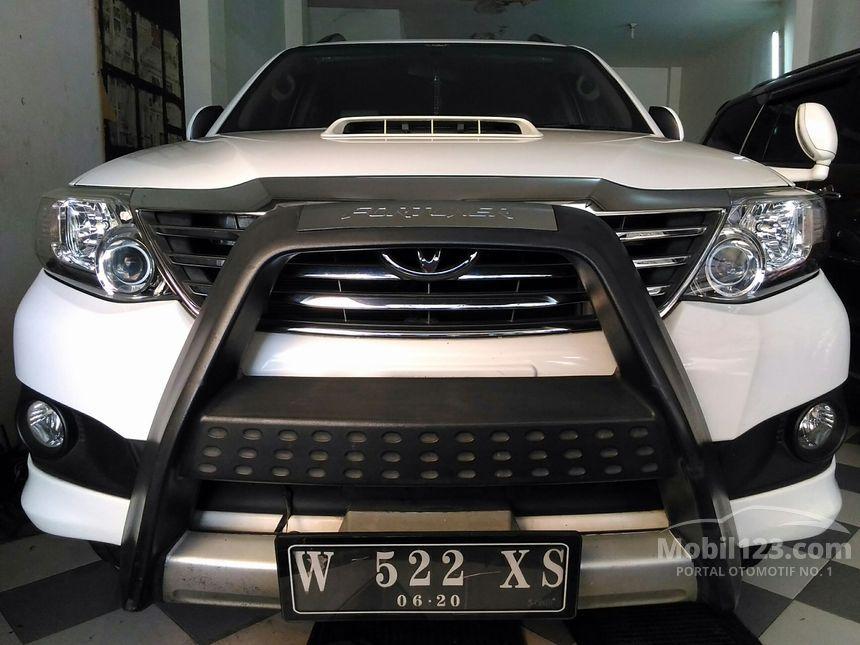 Jual Mobil Toyota Fortuner 2013 G 2.5 di Jawa Timur ...