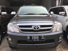 2008 Toyota Fortuner 2.5 G ISTIMEWA ANTIK LANGKA SIAP MUDIK RECORD RADJAMOBIL AXC SUMMARECON BEKASI