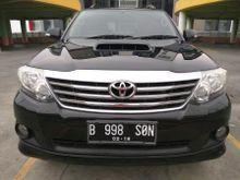 Toyota Fortuner G Diesel VNT Matic 2013 Istimewa