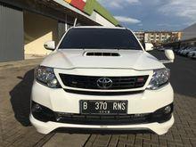 2014 Toyota Fortuner 2.5 G VNT TURBO DIESEL Putih Istimewa KM RENDAH LIKE NEW GRESS RADJAMOBIL AXC SUMMARECON BEKASI