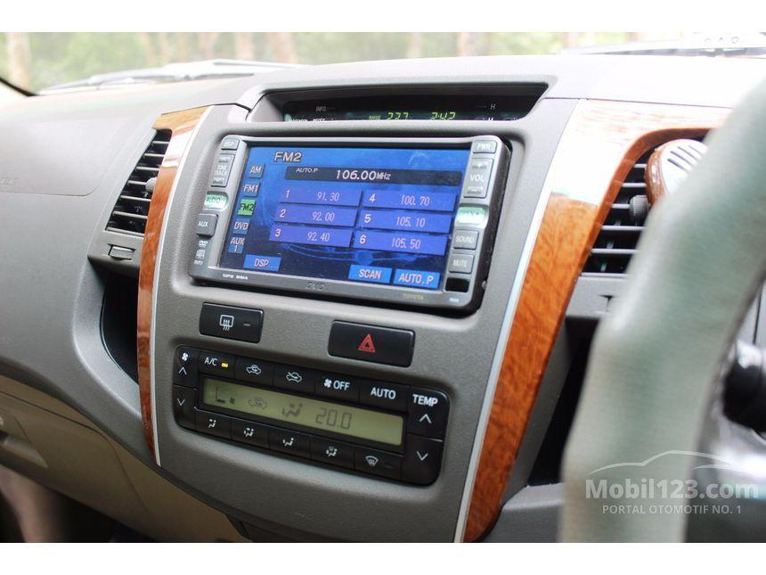 Toyota Fortuner 2010 G 2.5 di Kepulauan Riau Automatic SUV Hitam Rp