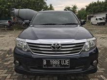 Toyota Grand Fortuner Diesel 12 AT Blue Black Deep Limited Edition Terawat APIK