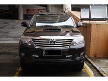 Toyota Fortuner 2014 VNT Diesel AT Hitam 1 Tangan dari baru mobil simpanan