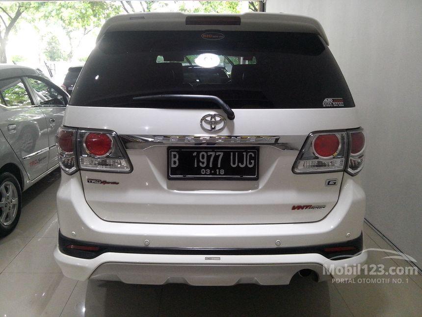 2013 Toyota Fortuner G TRD SUV
