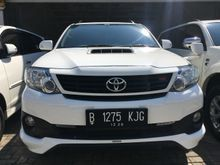2015 Toyota Fortuner 2.5 G TRD VNT TURBO LIKE NEW TOP CONDITION RECORD GRESS ISTIMEWA RadjaMobil AXC SUMMARECON BEKASI