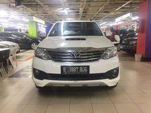 Toyota Fortuner 2.5 G TRD 2012 Diesel Rawatan Pribadi