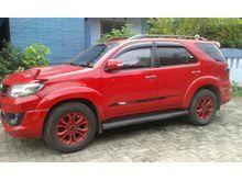 2015 Toyota Fortuner 2.5 G TRD Merah Metalik