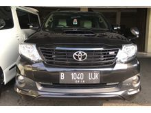 2014 Toyota Fortuner 2.5 G TRD Sportivo VNT TURBO DIESEL ISTIMEWA KM Rendah Harga Nego Top Condition