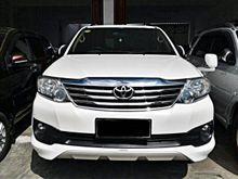 Toyota Fortuner 2.5 G TRD 2012 DIESEL AT TDP MURMER