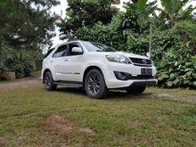 Fortuner TRD Sportivo 2.5L G AT Diesel thn. 2014 Mulus