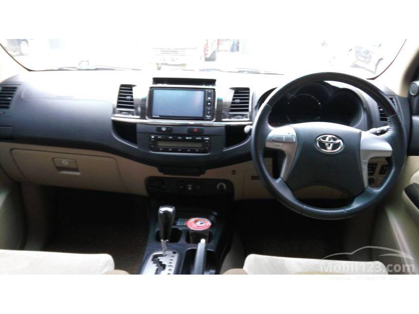 Harga Toyota Fortuner G Bekas - Harga C