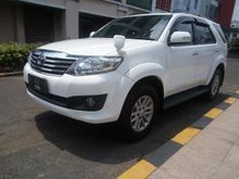 2012 Toyota Fortuner 2.7 SUV Offroad 4WD