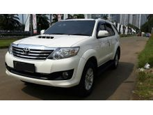 Fortuner VNT Turbo Km Rendah Diesel NIK 2014 Pakai 2015