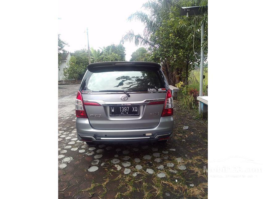 Toyota Innova 2014 2 0 Di Jawa Timur Manual Compact Car
