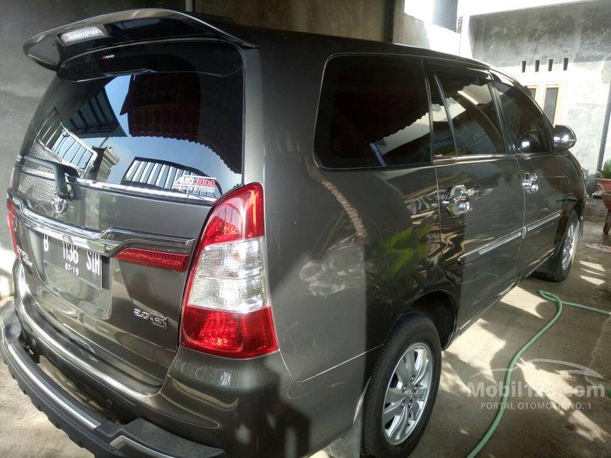 Jual Mobil Toyota Innova 2014 2 0 Di Jawa Tengah Manual