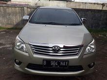 2013 Toyota Innova 2.0  MPV Minivans