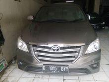 2014 Toyota Kijang Innova 2.5 E MPV