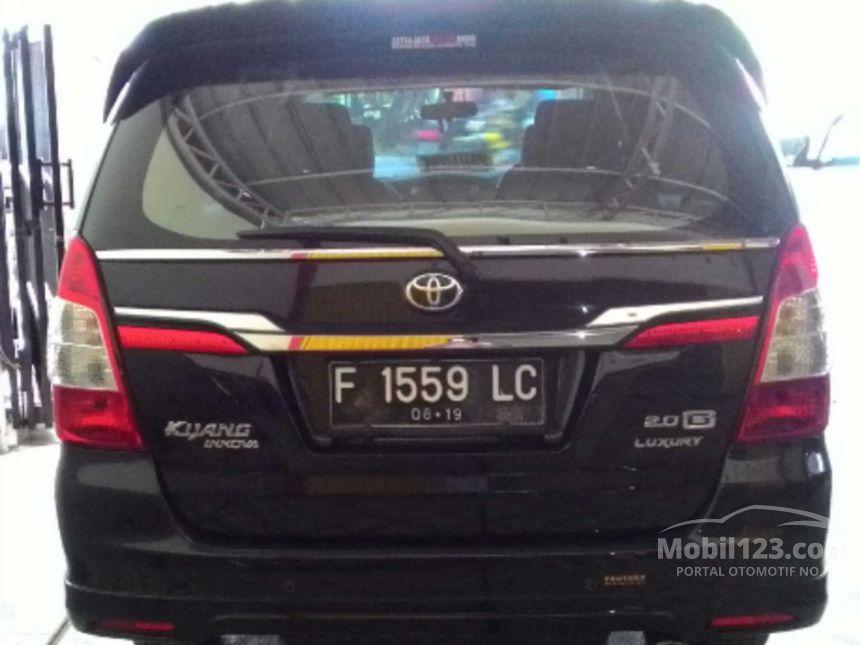 2014 Toyota Kijang Innova G Luxury MPV