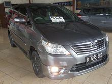 Toyota Kijang Grand New Innova G Luxury At 2013 Abu abu